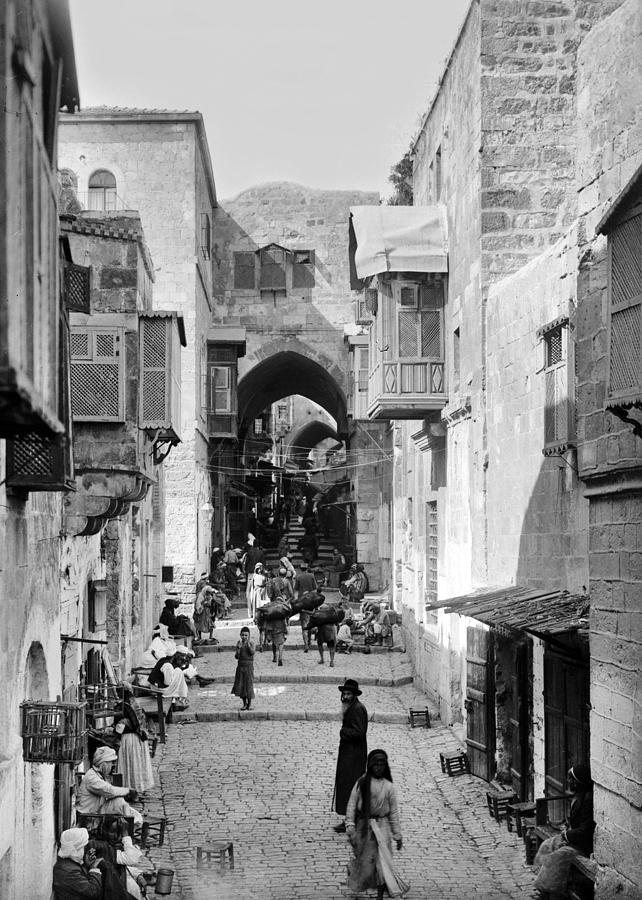 Old City Photograph - Jerusalem Old City Street 3 by Munir Alawi