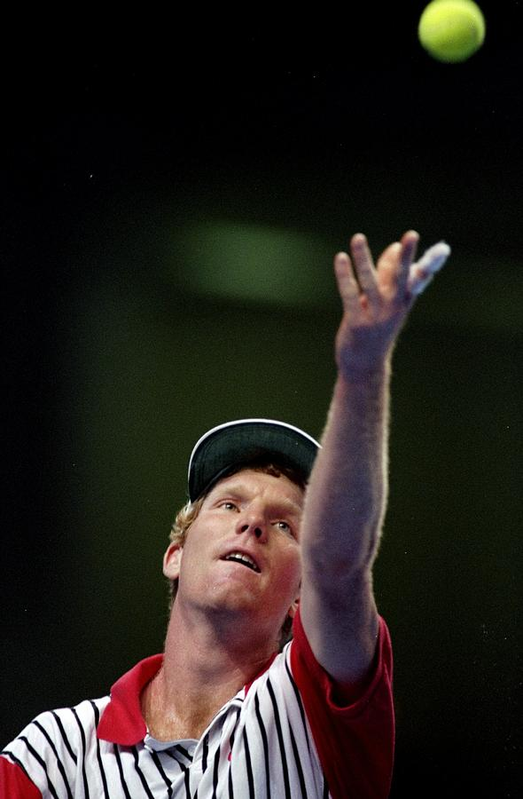 Jim Courier Photograph by Gary M. Prior