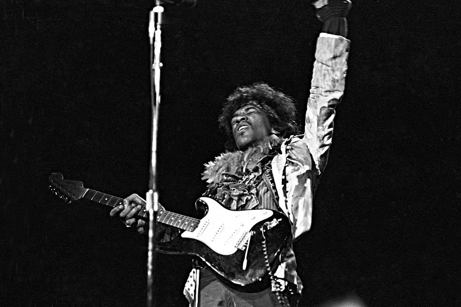Jimi At Monterey Photograph by Michael Ochs Archives
