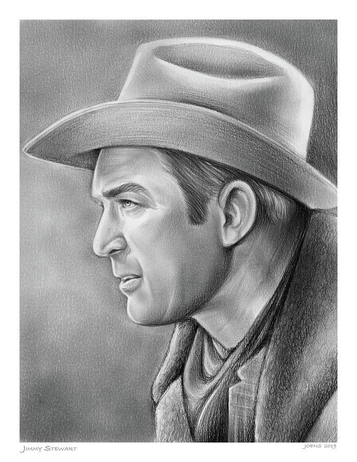 Jimmy Stewart Drawing