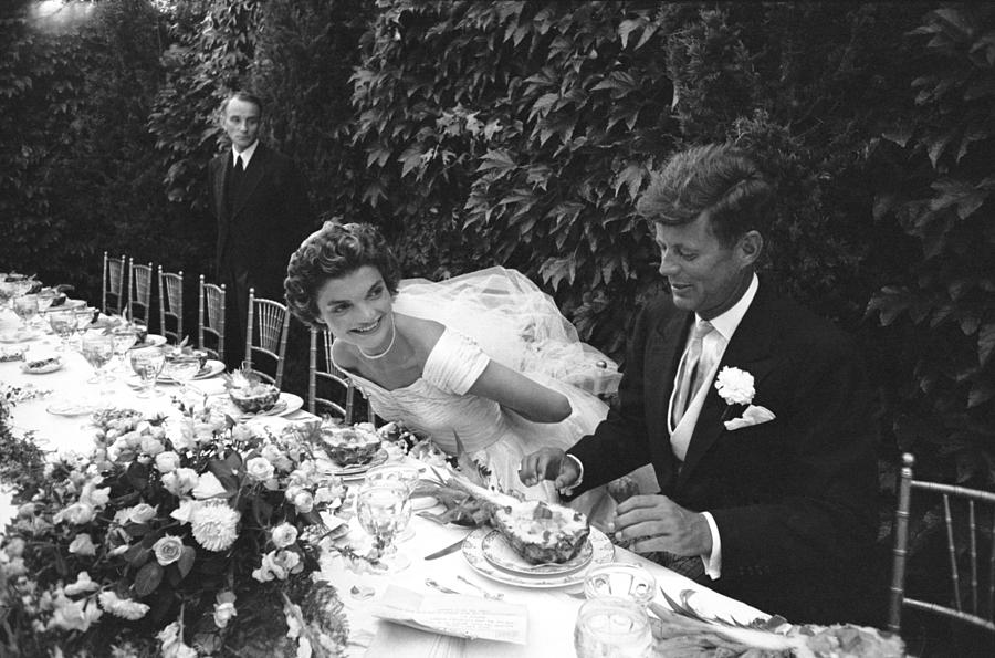 John F. Kennedy And Jacqueline Kennedy Photograph by Lisa Larsen