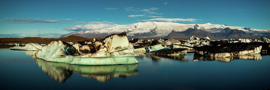 Iceland Photograph - Jokulsarlon Lagoon, Iceland by Peter OReilly