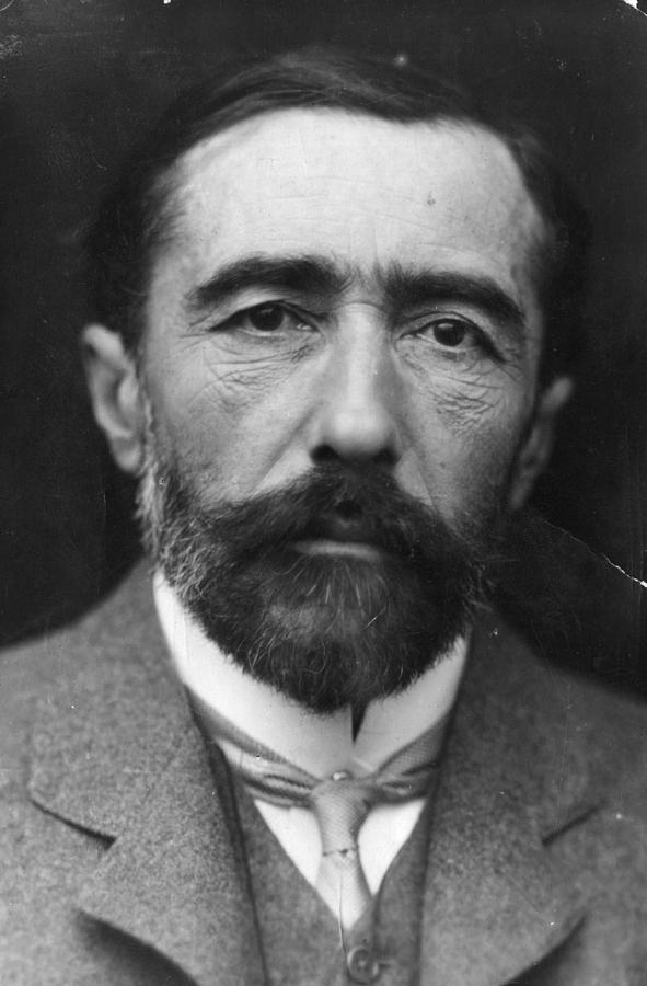 Joseph Conrad Photograph by George C. Beresford