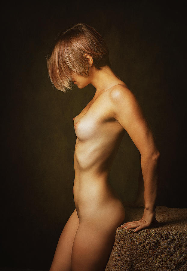 Fine Art Nude Photograph - Judit by Zachar Rise