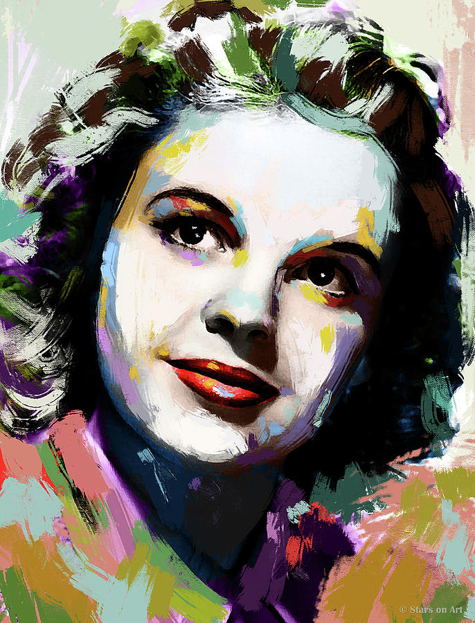 Judy Garland Portrait Painting