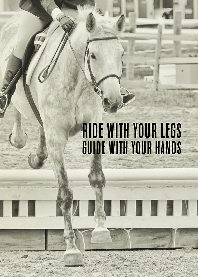 Jumping Vertical Quote Photograph