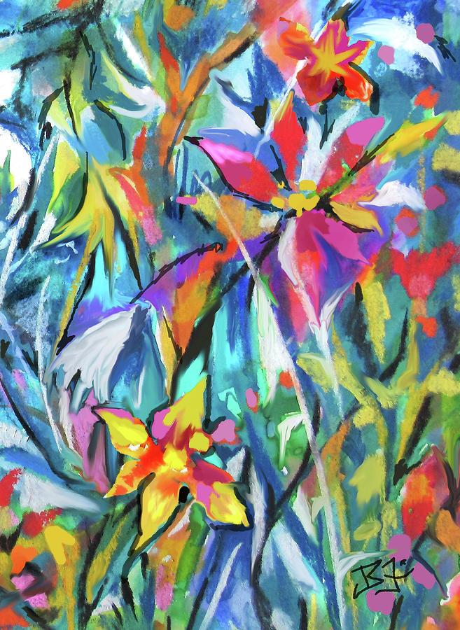 Jungle Garden by Jean Batzell Fitzgerald