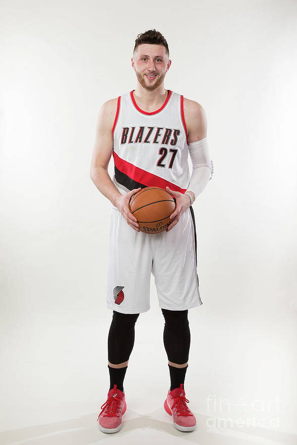 Jusuf Nurkic Photo Shoot Photograph by Sam Forencich