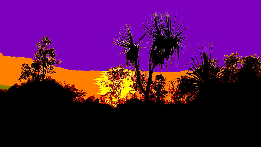 Kakadu Sunrise #2 - Pop Art by Lexa Harpell