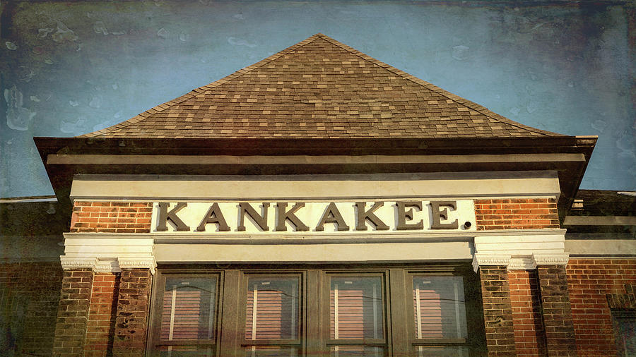 Kankakee Photograph - Kankakee Depot - #1 by Stephen Stookey