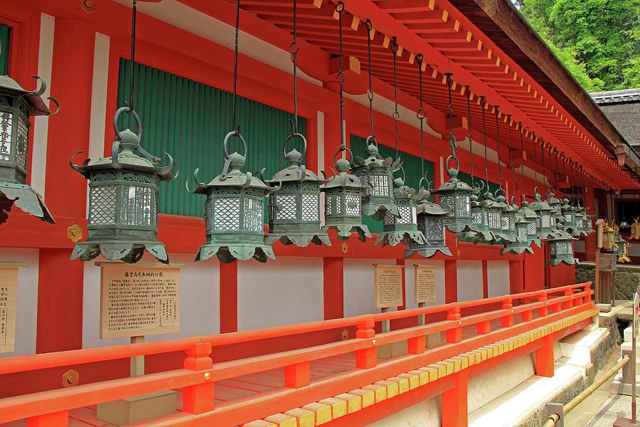 Kasuga Taisha Shrine - Nara, Japan by Richard Krebs
