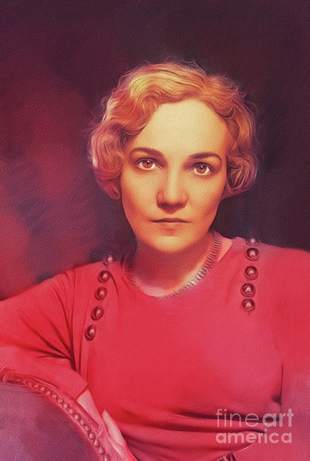 Katharine Anne Porter, Literary Legend Painting