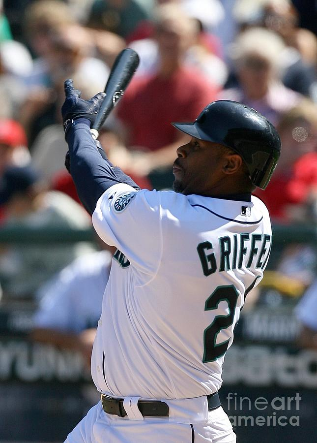 Ken Griffey Jr. Retires From Seattle Photograph by Otto Greule Jr