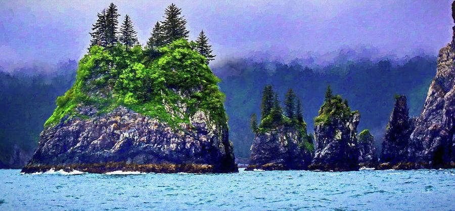 Kenai Fjords Alaska by Russ Harris