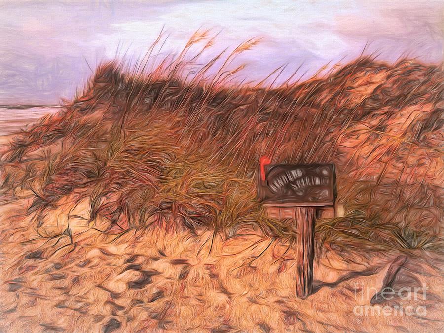 Kindred Spirits mailbox Sunset Beach, NC by Irene Dowdy