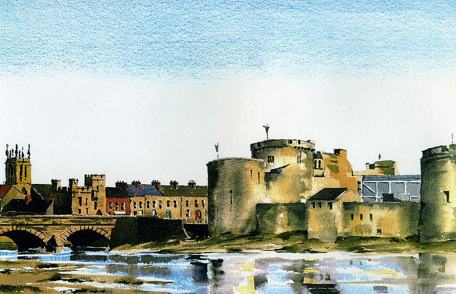 King John's Castle, Limerick by Val Byrne