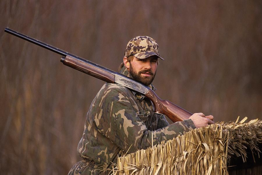 Kirk Gibson Goes Duck Hunting Photograph by Ronald C. Modra/sports Imagery