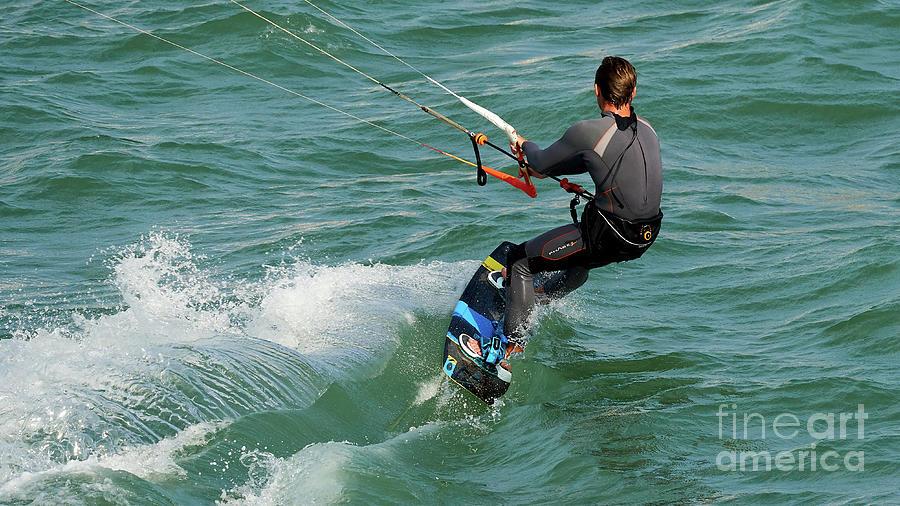 Kite Surfing at Fuerte Ciudad Beach by Pablo Avanzini