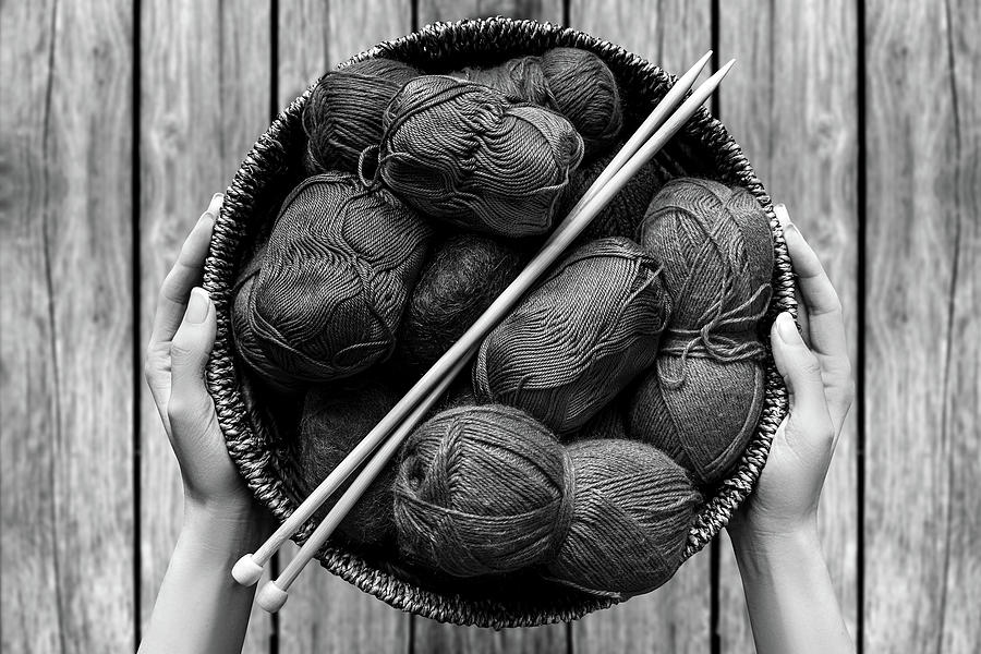 Knitting Yard by Mad Artist