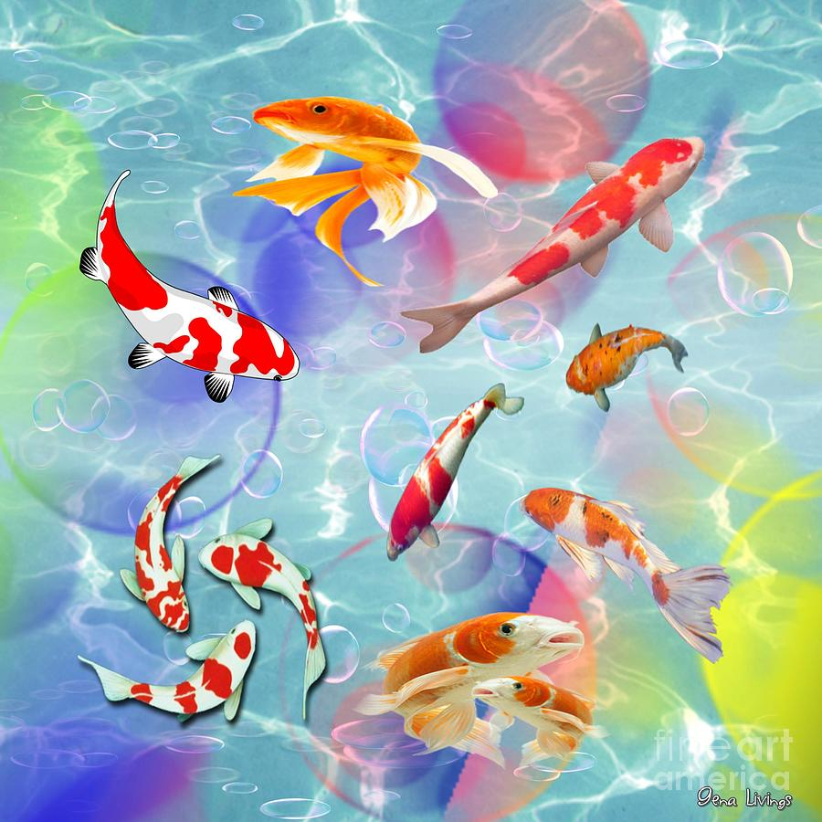 Koi Fusion by Gena Livings