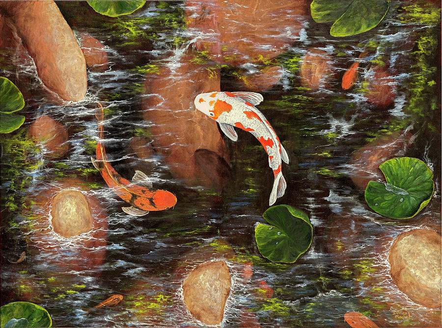 Koi Pond by Darice Machel McGuire