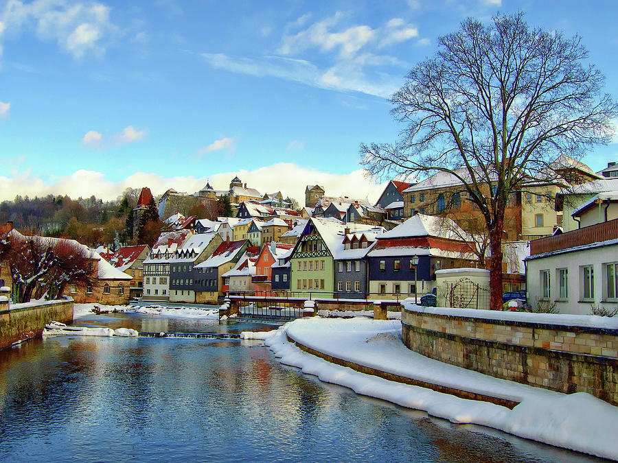 Kronach Winter Scene by Anthony Dezenzio