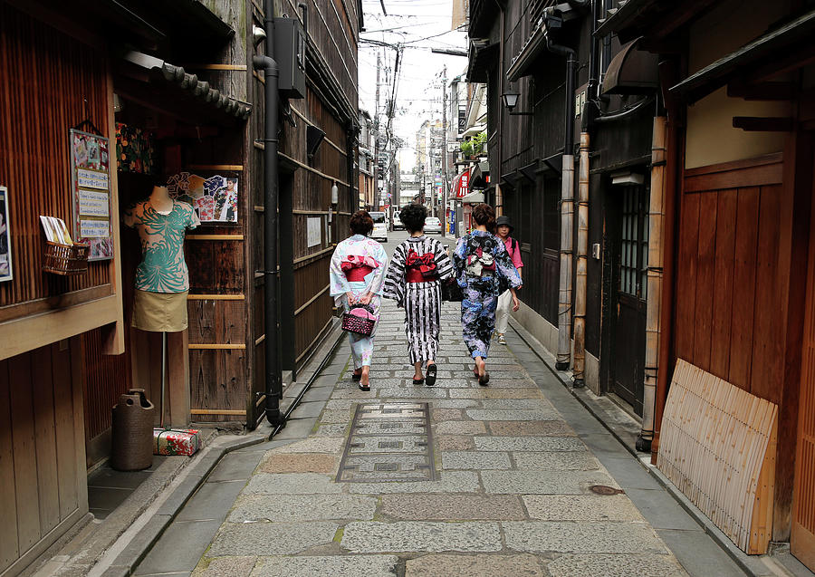 Kyoto Ranked Worlds Best City By U.s Photograph by Buddhika Weerasinghe