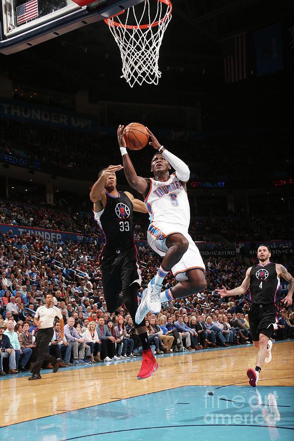 La Clippers V Oklahoma City Thunder 1 Photograph by Layne Murdoch