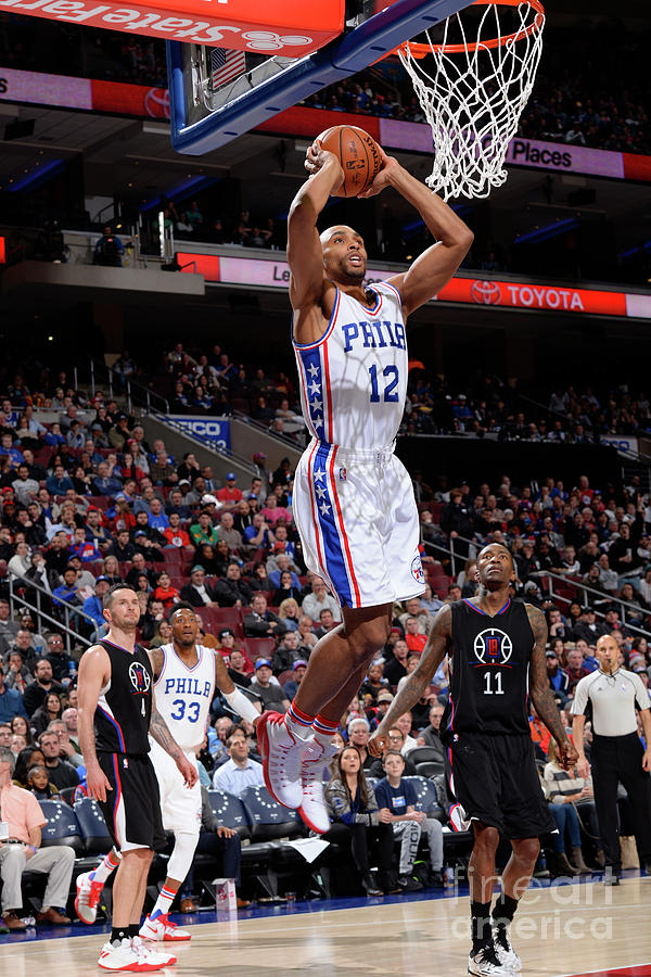 La Clippers V Philadelphia 76ers Photograph by David Dow