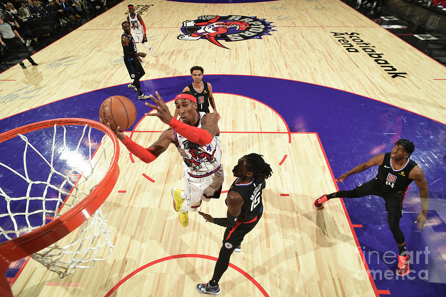 La Clippers V Toronto Raptors Photograph by Ron Turenne
