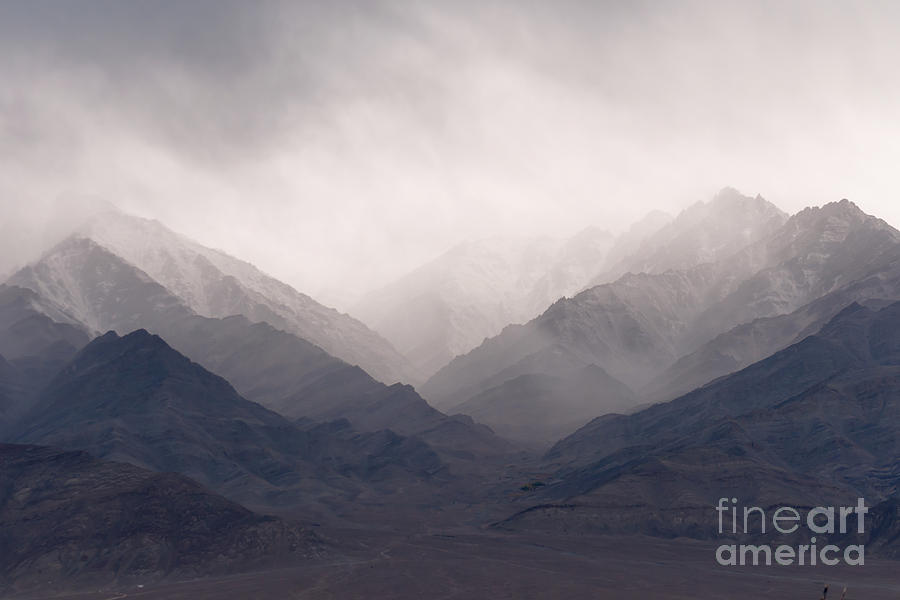 Color Photograph - Ladakh Mountains by Sihasakprachum
