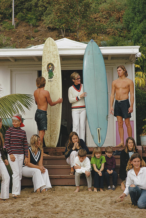 Laguna Beach Surfers Photograph by Slim Aarons