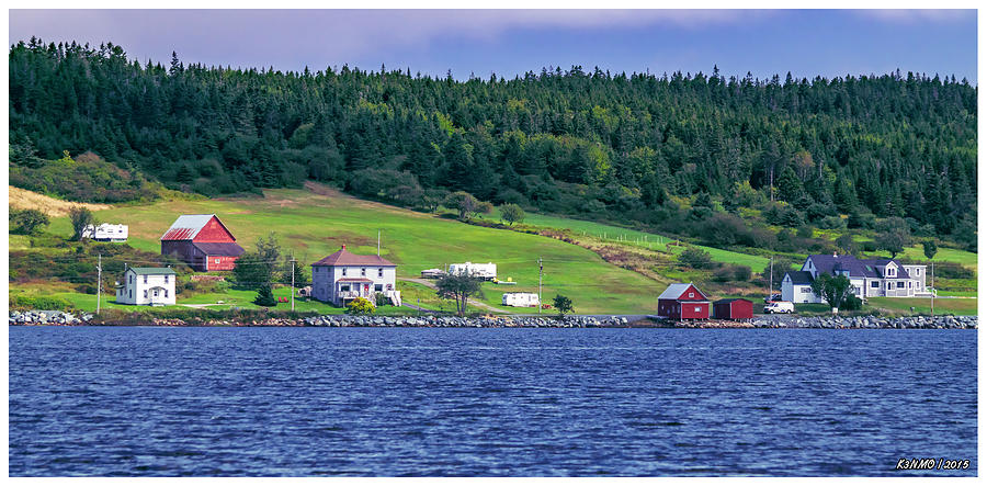 2015 Photograph - Lahave, Nova Scotia by Ken Morris