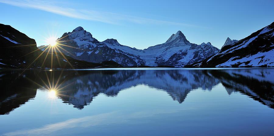 Lake Bachalpsee Photograph by Raimund Linke