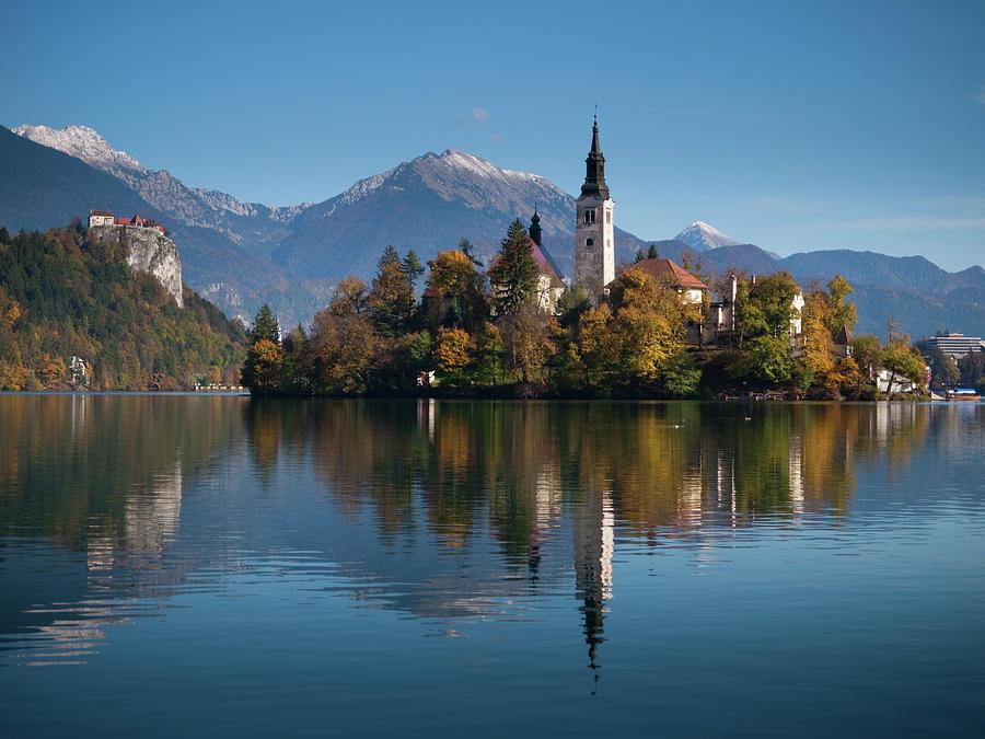 Lake Bled Photograph by Mistikas