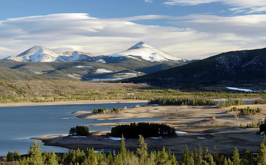 Lake Dillon, Frisco, Colorado Photograph by Rivernorthphotography