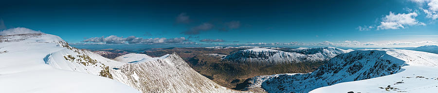 Lake District Striding Edge Helvellyn Photograph by Fotovoyager