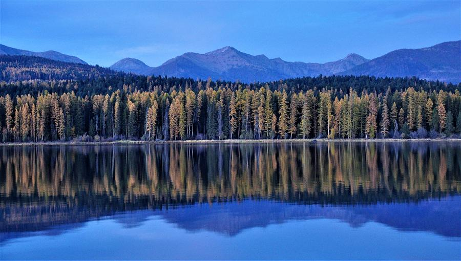 Lakeside Reflections by Mike Helland