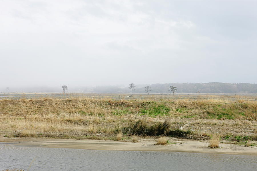 Landscape After An Earthquake Disaster Photograph by Sot