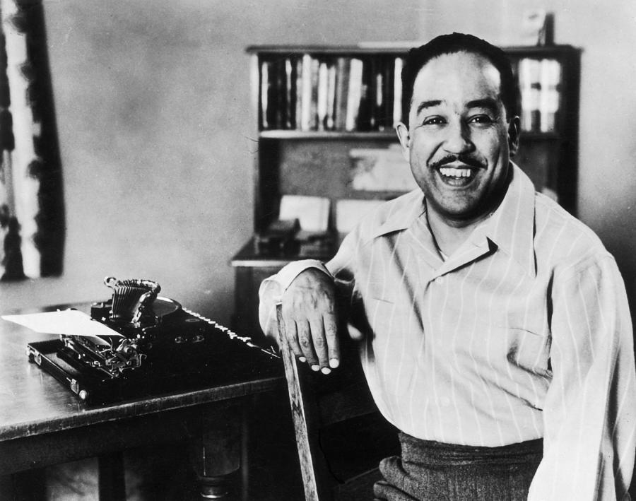 Langston Hughes Photograph by Hulton Archive