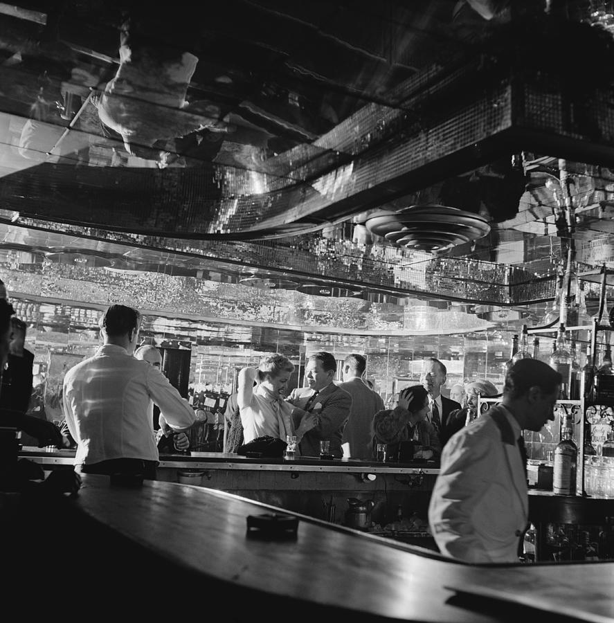 Latin Quarter Bar Photograph by Graphic House