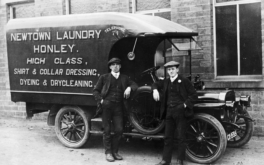 Laundry Van Photograph by Chaloner Woods