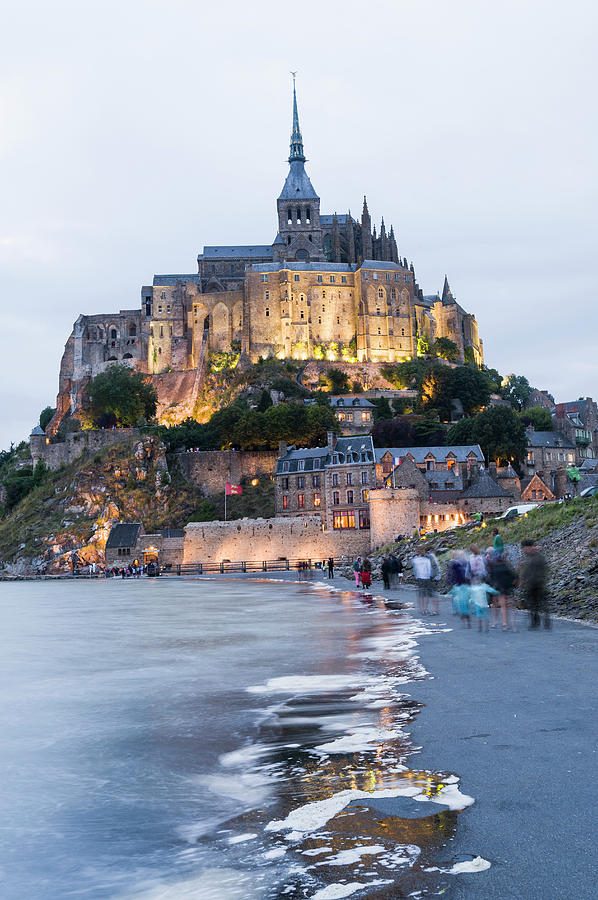 Le Mont Saint Michel, Normandy, France Photograph by John Harper