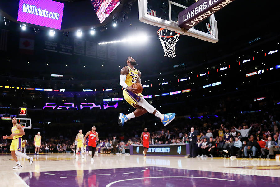 Lebron James Photograph by Chris Elise