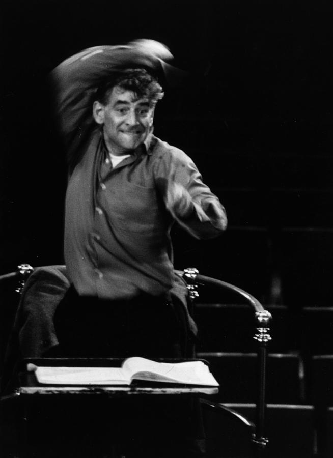 Leonard Bernstein Photograph by Erich Auerbach
