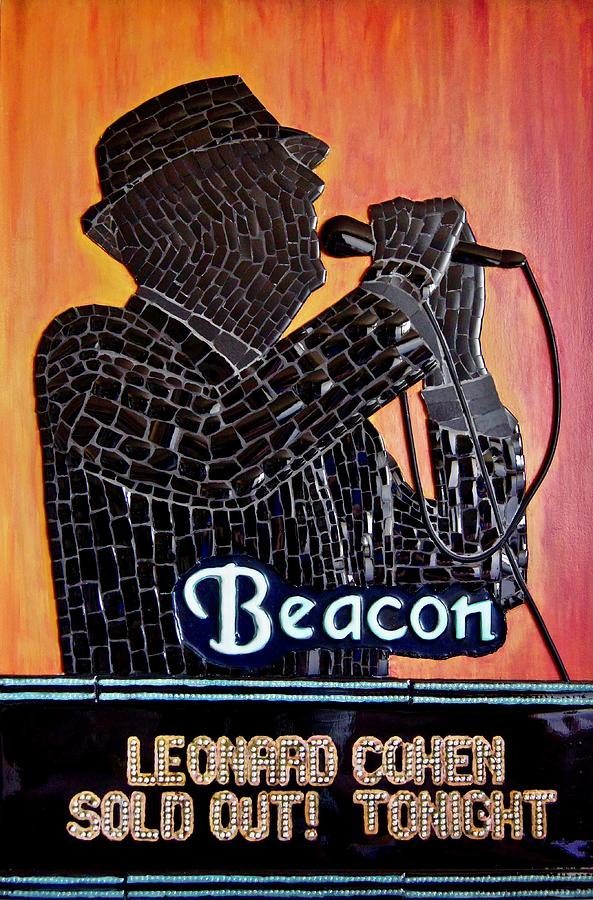 Leonard Cohen At The Beacon by Tony Cepukas