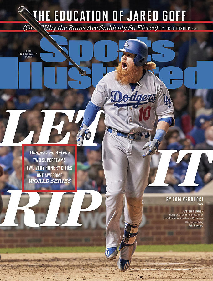 Let It Rip 2017 World Series Preview Issue Sports Illustrated Cover Photograph by Sports Illustrated