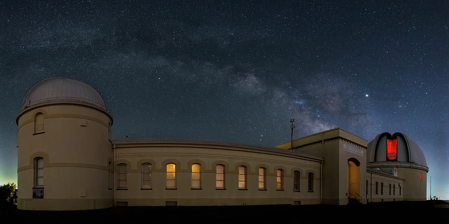 Lick Observatory Milky Way by Mike Gifford