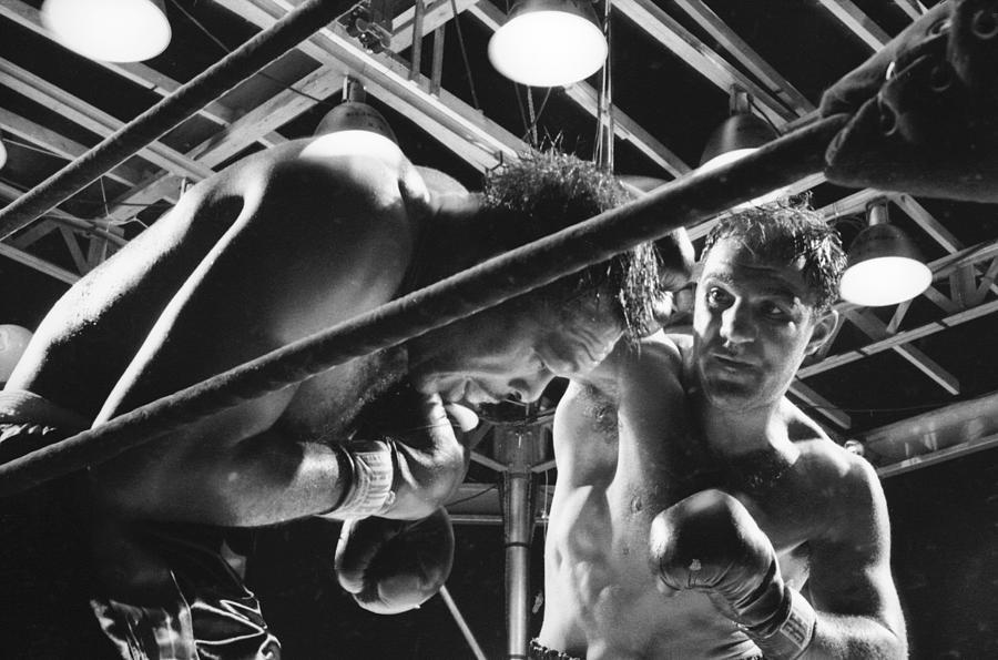 Light Heavyweight Fight Photograph by Grey Villet