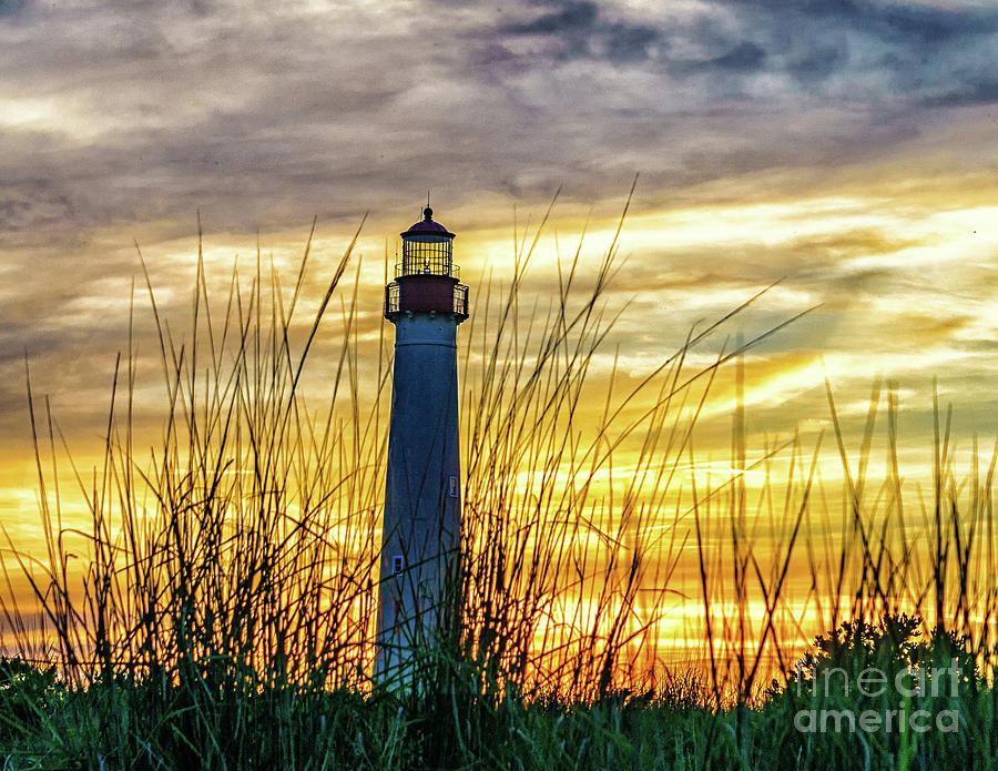 Lighthouse Sunset by Nick Zelinsky